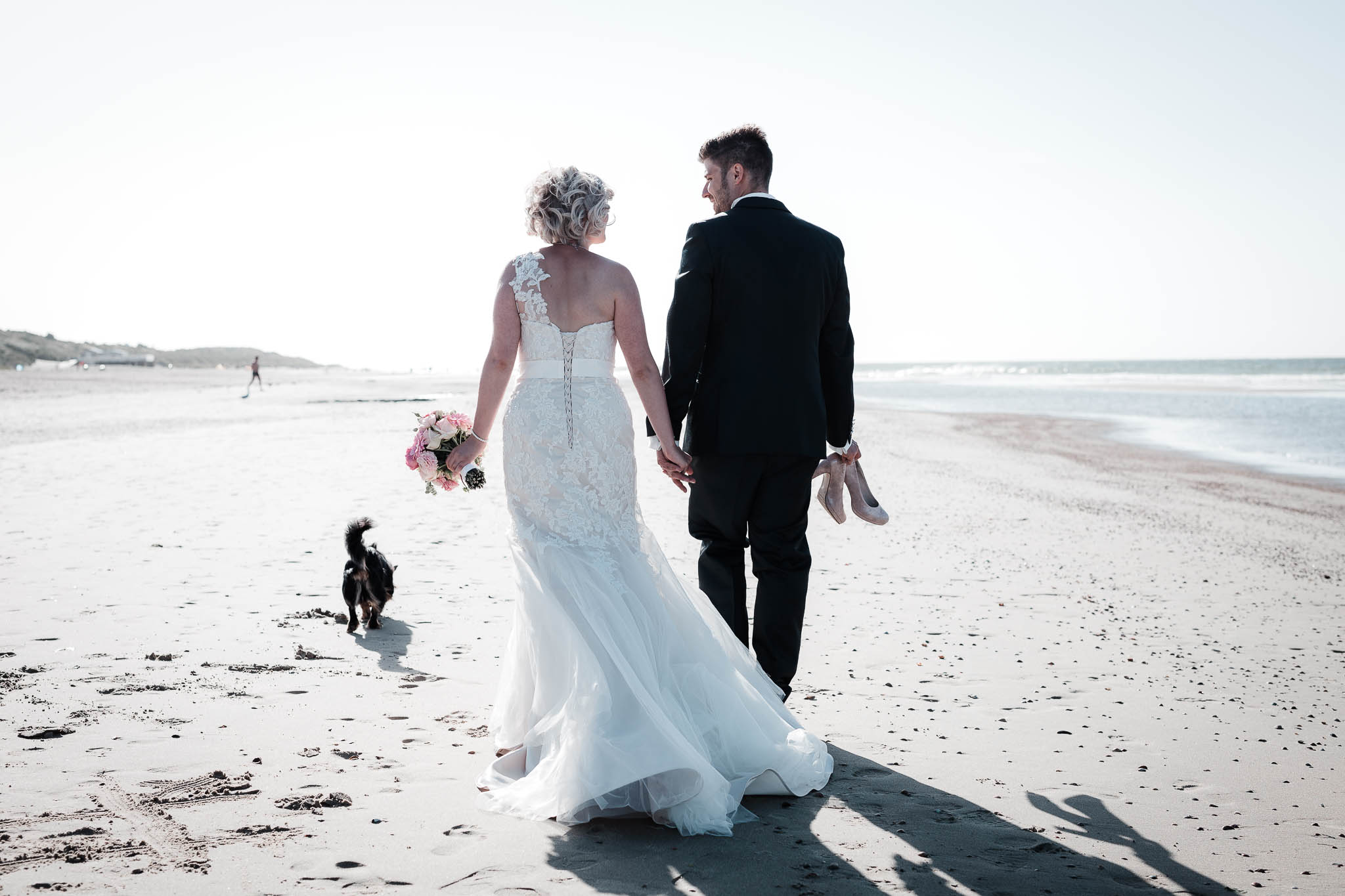 freie Trauung in Holland am Strand: Lisa und Michael